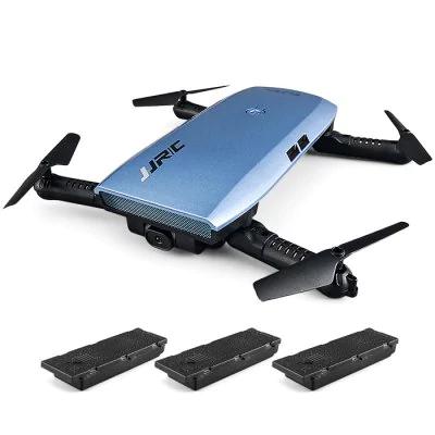 GearBest: JJRC H47 ELFIE+ Foldable RC Pocket Selfie Drone - RTF  -  WITH THREE BATTERIES  BLUE