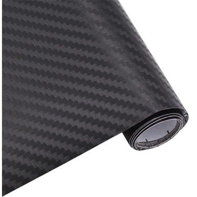 GearBest: 3d Carbon Fiber Body Film Car Decoration Fiber Car Protection Stickers  -  BLACK
