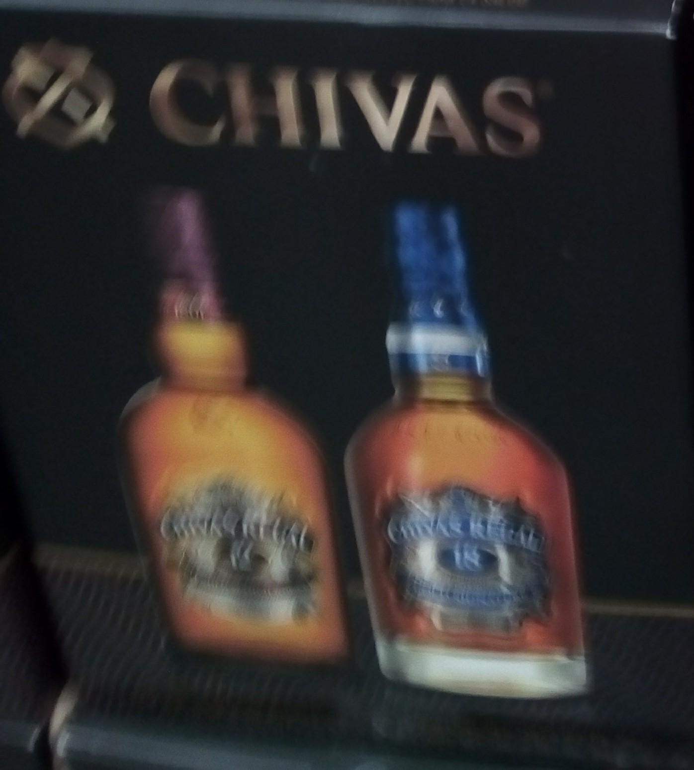 Costco Chivas 18 + Chivas 12