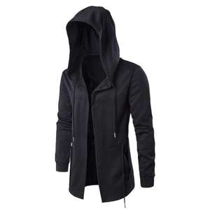GearBest: Darkness Series Windproof Male Coat  -  2XL  BLACK
