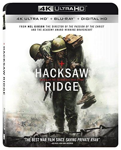 Amazon MX: Hacksaw Ridge Blu-Ray 4K
