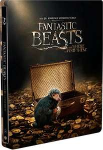 Amazon: Steelbook Animales Fantásticos y Dónde Encontrarlos (BD + DVD)