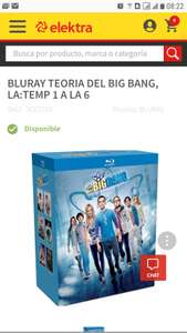 Elektra: The Big Bang Theory Bluray