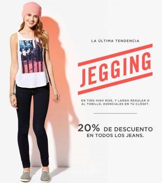 American Eagle: 20% de descuento en jeans