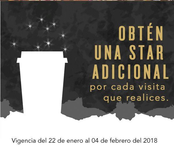 Starbucks: Estrella adicional en Starbucks nivel green