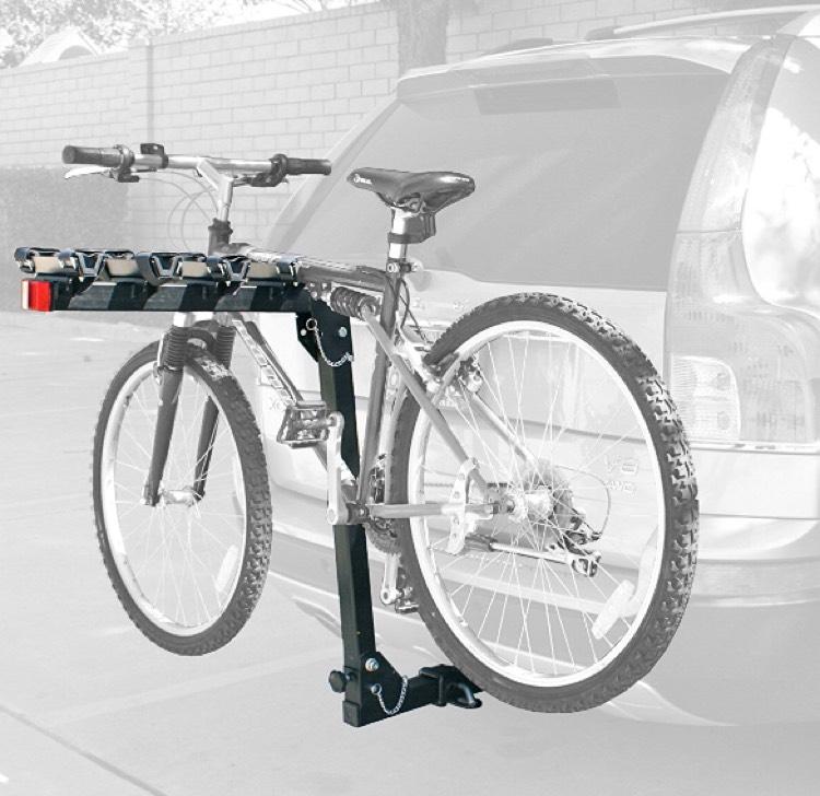 Amazon: Porta bicicletas para tirón - 4 bicicletas.