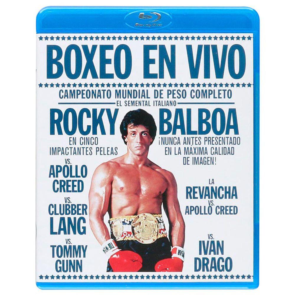 Elektra: Rocky I-V en Blu-Ray y más