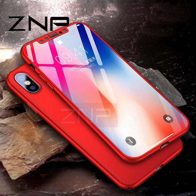 AliExpress: Carcasa y Cristal Templado Para iphone X