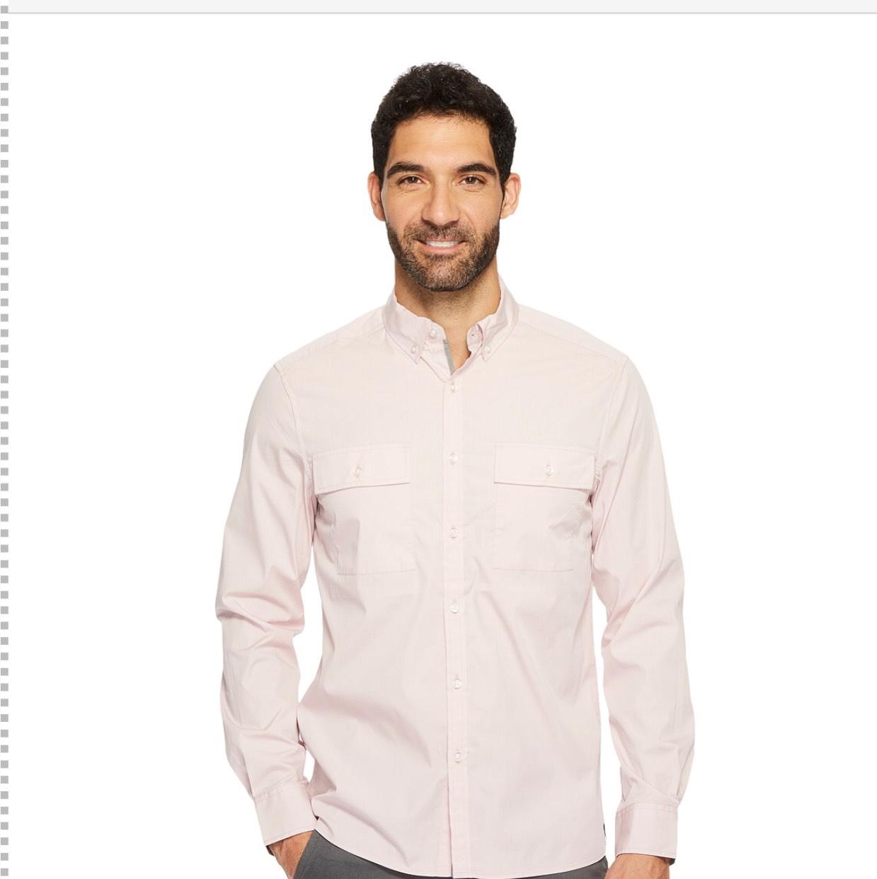 Amazon: Camisa Kenneth Cole talla L - Prime