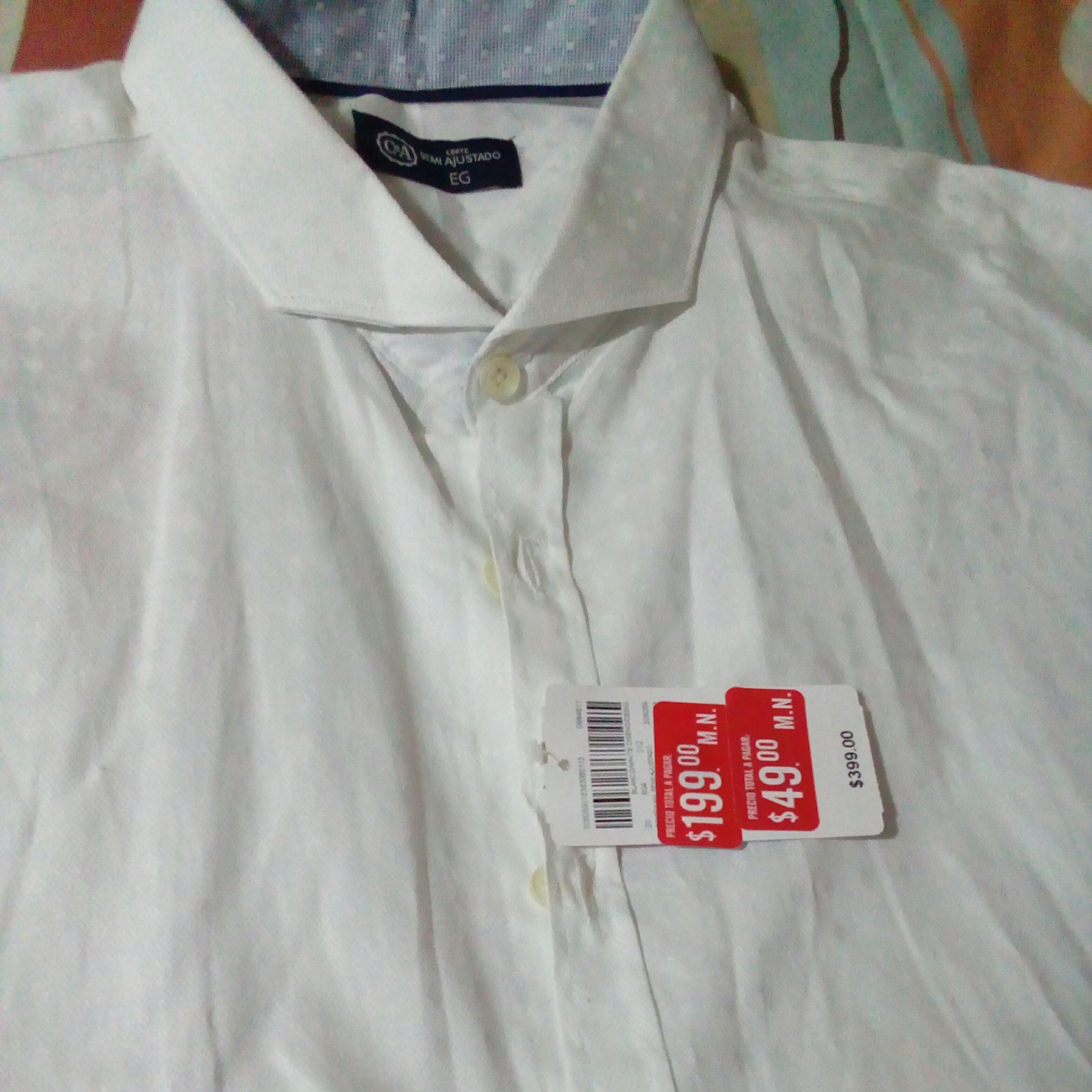 C&A: Camisas de vestir a $49 ultima liquidacion