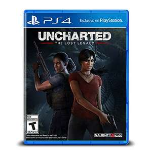 Amazon México: Uncharted Lost Legacy para PS4
