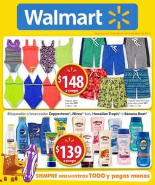 Folleto de ofertas Walmart del 19 de marzo al 12 de abril