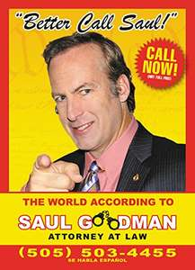 Amazon: Better Call Saul: The World According to Saul Goodman, Attorney At Law