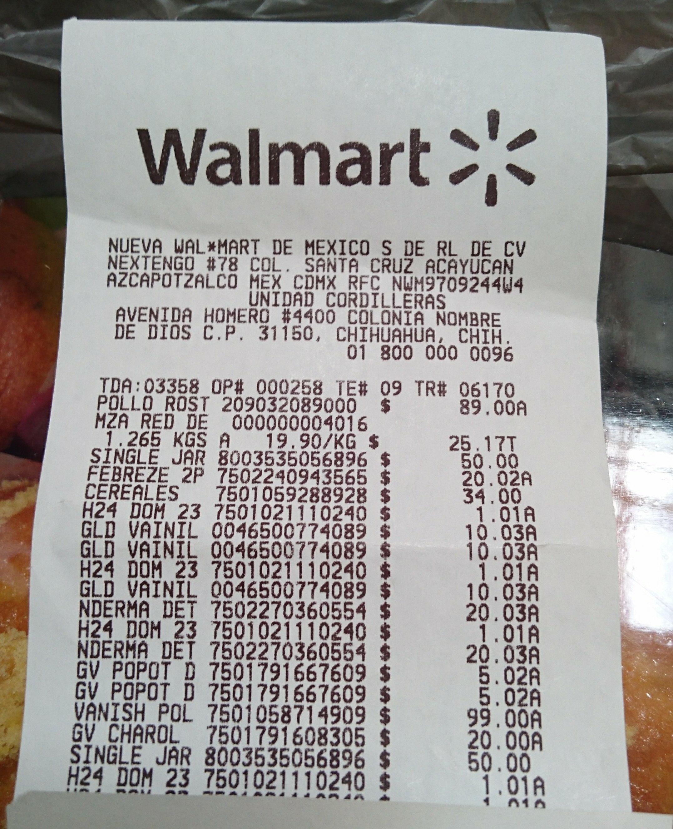 Walmart Chihuahua: Insecticida H24 a $1.01, Glade navideño $10.03 y otra cosita.