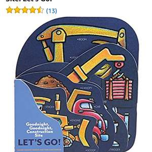 Amazon: Libro Goodnight, Goodnight, Construction Site: Let's Go!