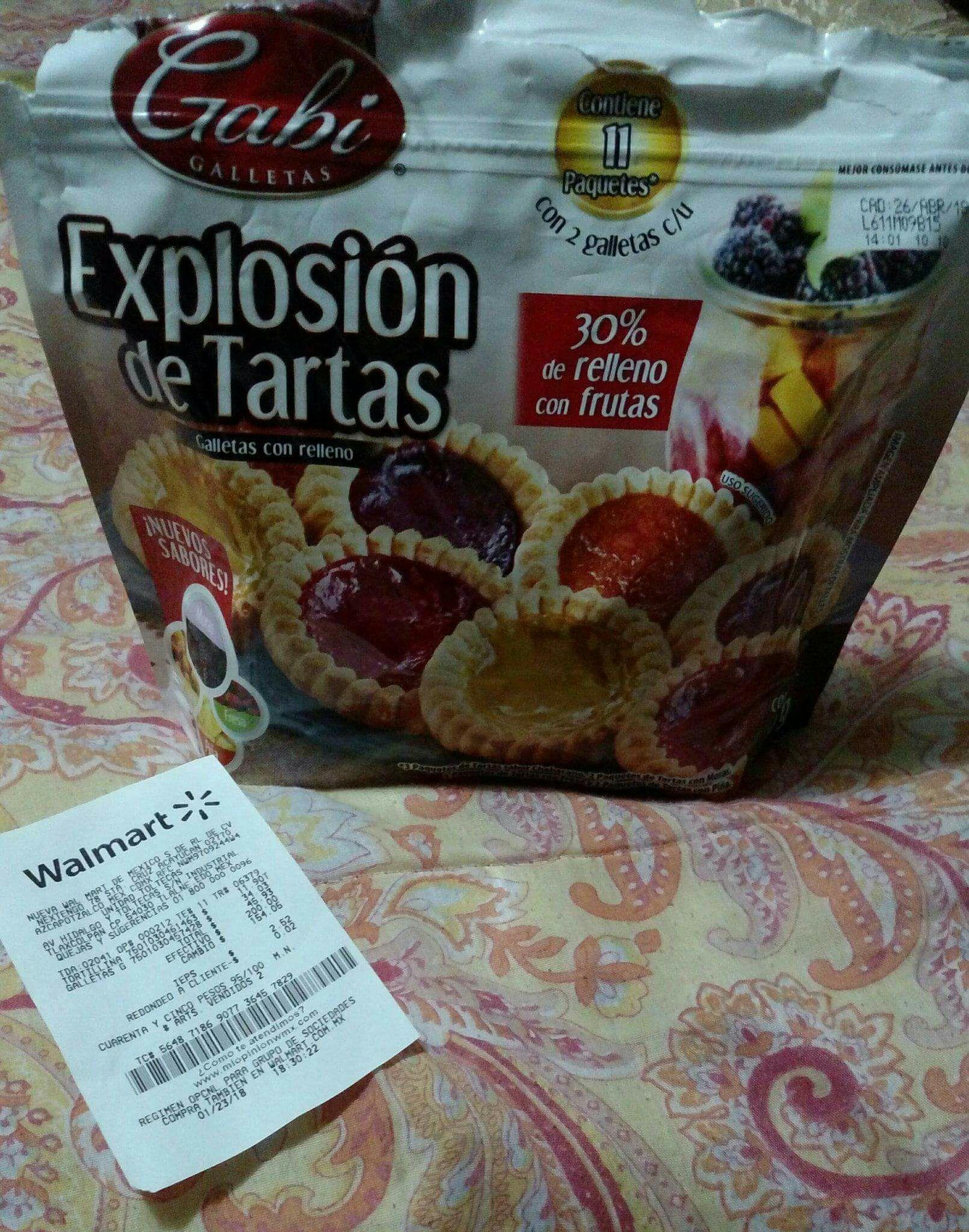 Walmart: Explosion de Tartas Gaby