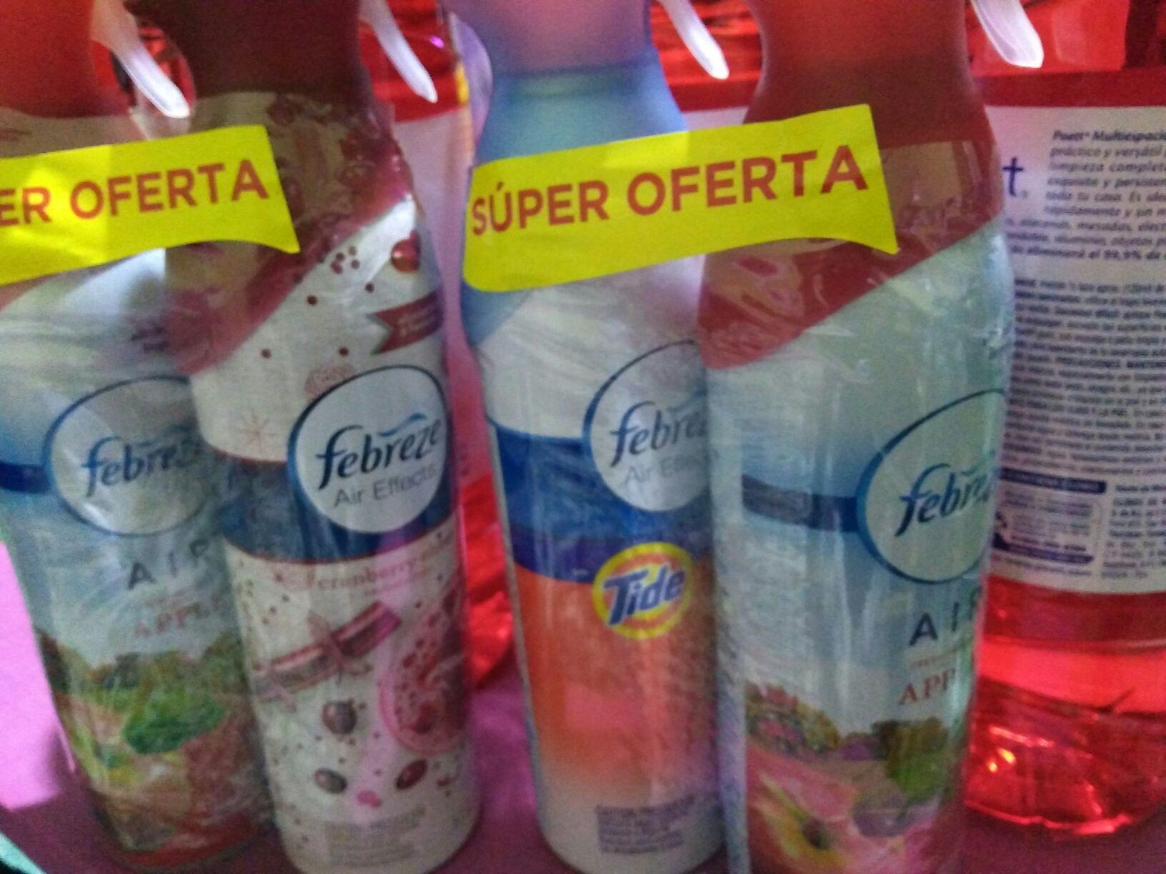 Superama Niza: Frebreze paquete de dos en buen precio