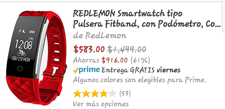 Amazon: REDLEMON Smartwatch