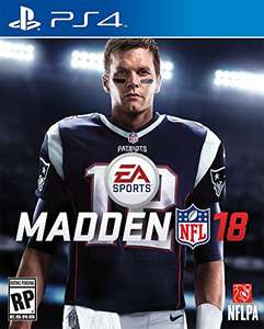 Amazon: Madden NFL 18 - PlayStation 4 - Standard Edition
