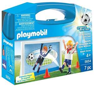 Amazon: Maleta Futbol Playmobil