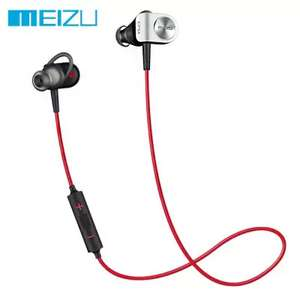 GearBest: Original Meizu EP51 Bluetooth HiFi Sports Earbuds Color ROJO CON NEGRO