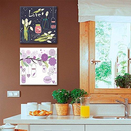 Amazon: Recopilación de cuadros decorativos 2 piezas
