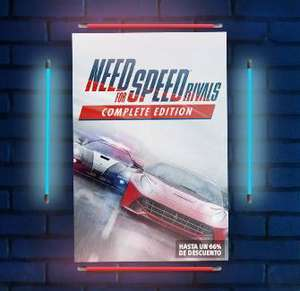 PSN: Need for Speed™ Rivals: Complete Edition para PS4 y PS3 a $21 USD