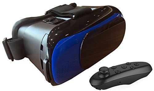 Amazon: Lentes de Realidad Virtual Azul + Control remoto