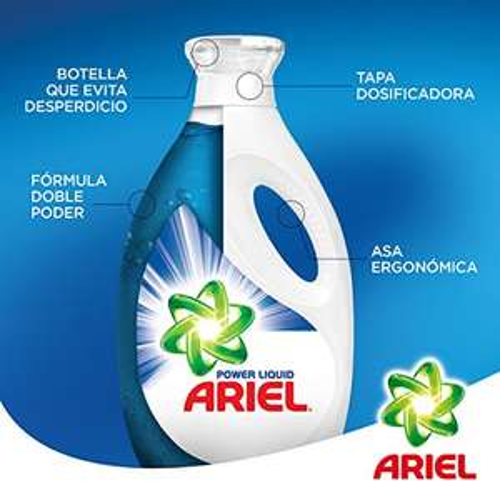 Amazon MX PRIME: Ariel Líquido Concentrado Detergente Líquido 3 L