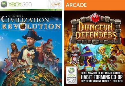 Juegos gratis de Xbox Live Gold marzo