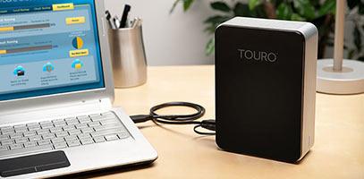 Pcel: Disco Duro Externo Hitachi Touro Desk Pro de 1 TB USB 3.0
