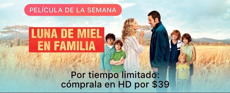 iTunes: Luna de Miel en Familia - Película de la semana