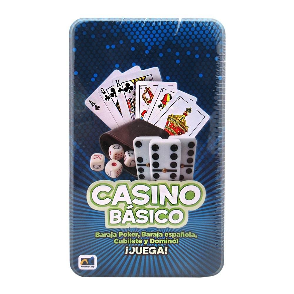 Walmart: Set de juegos (baraja española, Domino y Cubilete) a excelente precio!!!