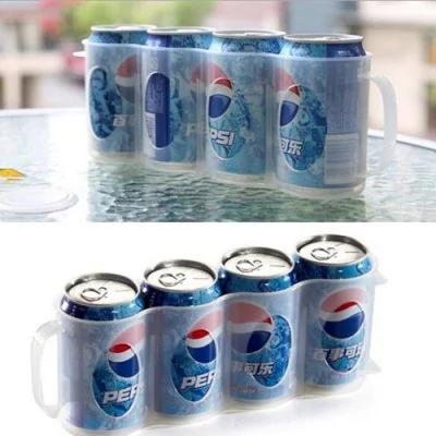 GearBest: Refrigerator Organizer Beverage Storage Box  -  CLEAR WHITE