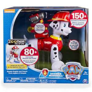 Amazon: Paw Patrol Zoomer Marshall