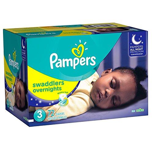 Amazon: Pampers overnight Unisex
