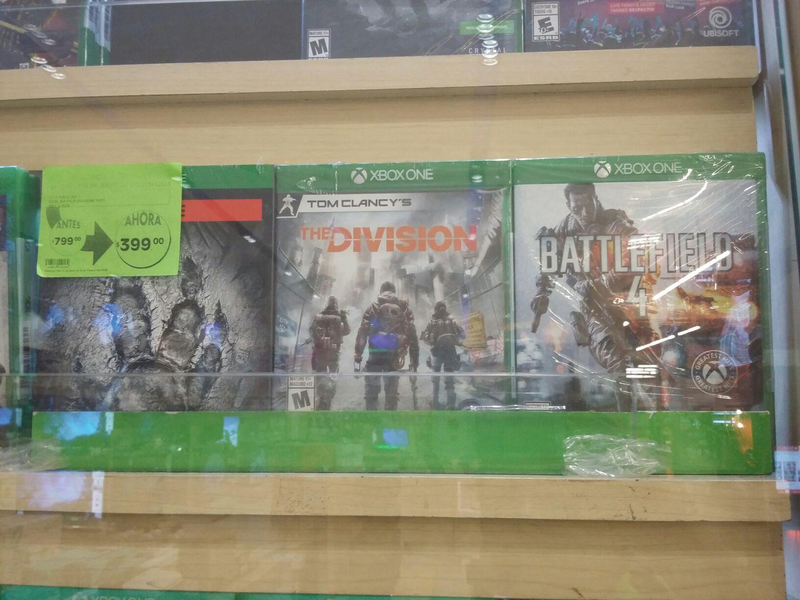 La Comer: 3 pack Xbox one
