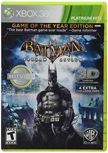 Amazon: Batman Arkham Asylum GOTY Xbox 360