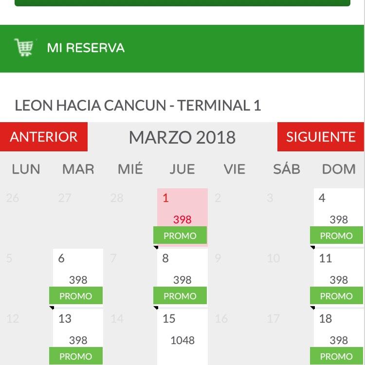 Vivaerobus: Vuelos Leon-Cancún barato barato