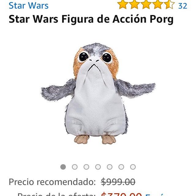 Amazon: Star Wars Figura de Acción Porg