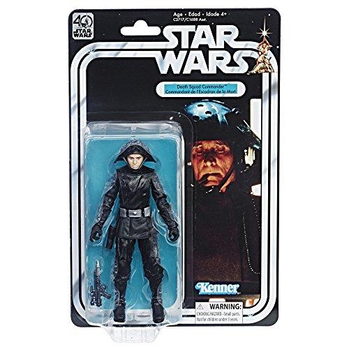 Amazon México: Star Wars Figura de Acción Black Series, 40 Aniversario, Death Squad Commander, aplica PRIME