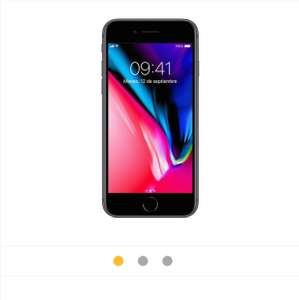 Walmart: iPhone 8 Apple 64 GB Space Gray Telcel $16,499 con $3500 de descuento más meses sin intereses