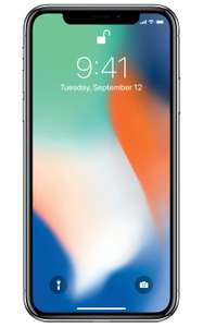 Walmart: iPhone X 64 GB a $18,999, 256GB a $21,999