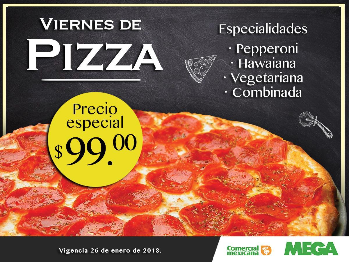 COMERCIAL MEXICANA VIERNES DE PIZZA