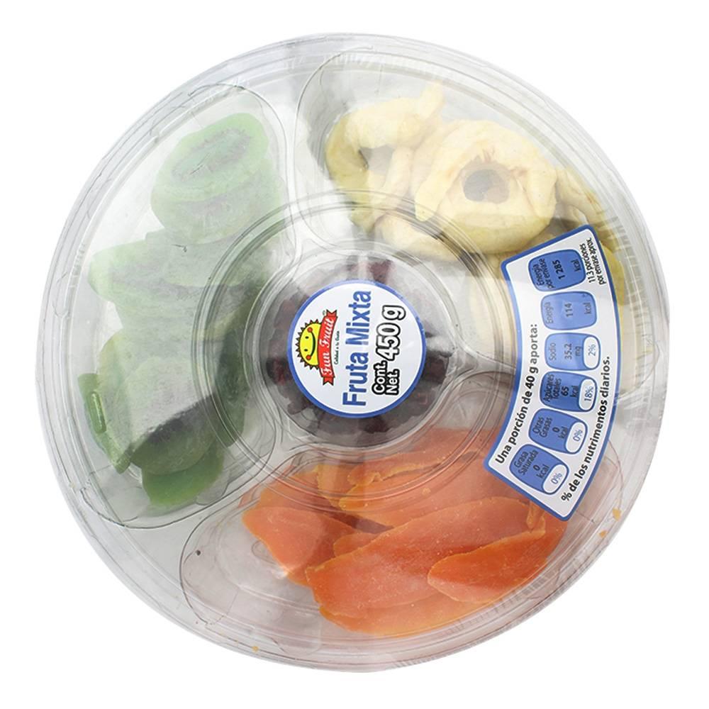 Walmart Súper:  Fruta mixta Frun Fruit 450 g