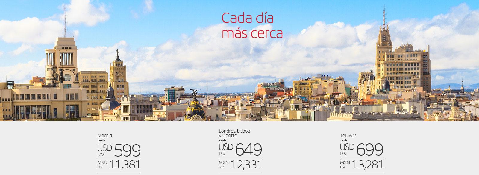 Iberia: Vuelos en Iberia a Madrid y otros destinos