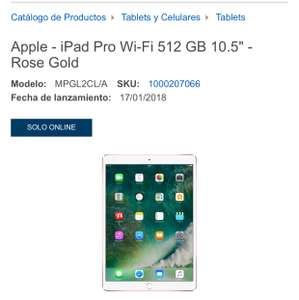 "BestBuy: iPad Pro Wi-Fi 512 GB 10.5"" - Rose Gold"