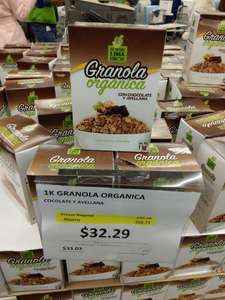 Sam's Club: Granola organica con chocolate 1kg