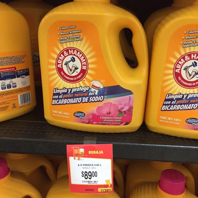 Walmart: Oferta Detergente Arm & Hammer a $89