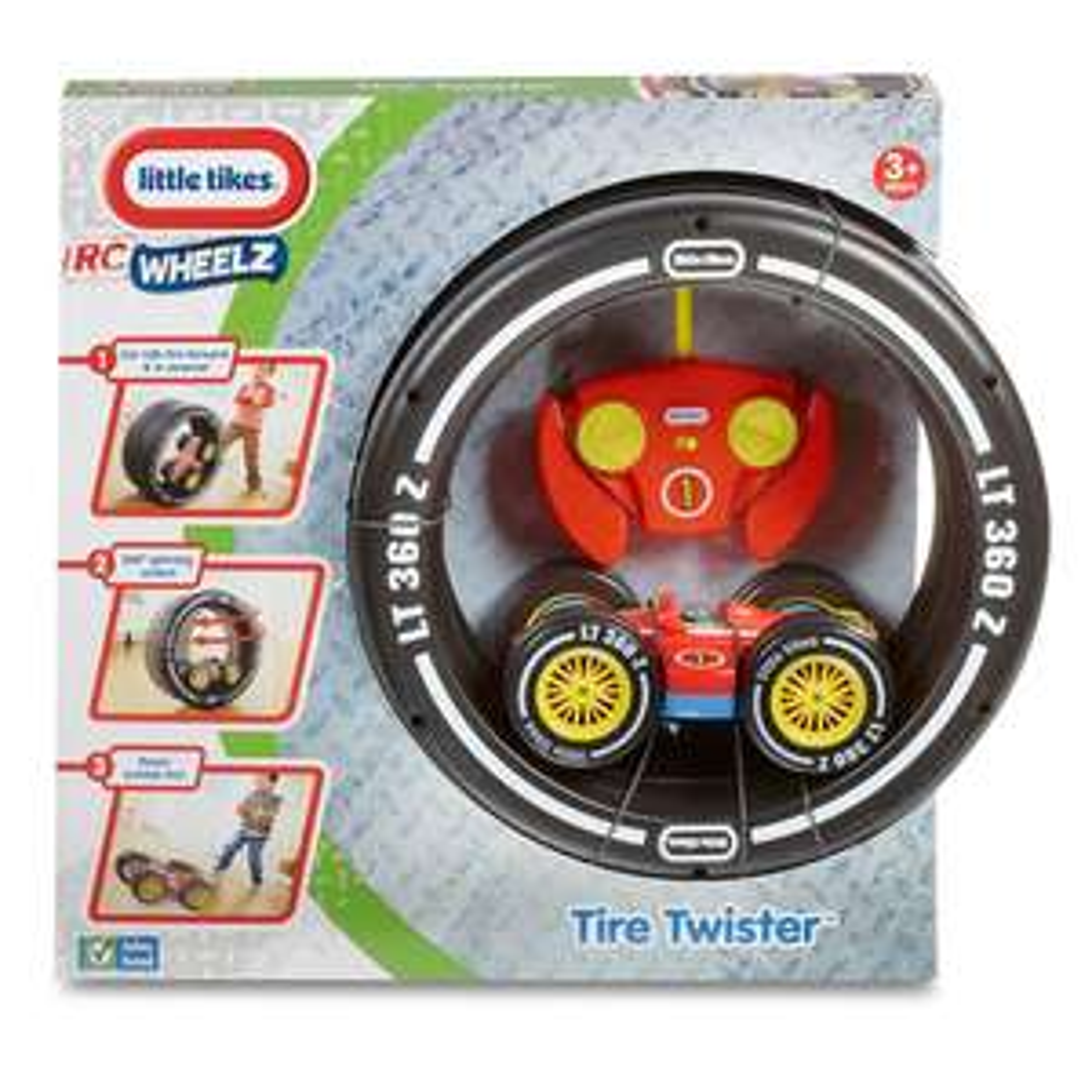 Walmart: Tornado de Neumáticos Little Tikes con Carro de Control Remoto